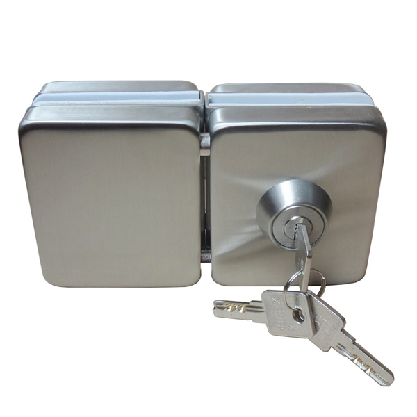 Slide Lock For Glass Door: Double Side Open Commercial Sliding Glass Door Lock