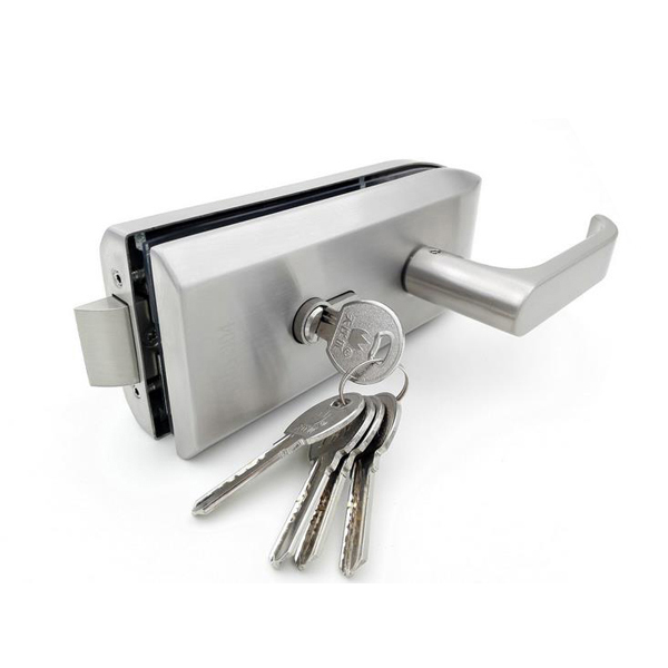 Stainless Steel Glass Door Lock