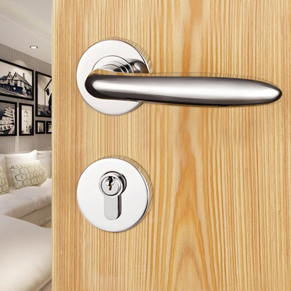 Hot sale Stainless steel solid door handles and locks in