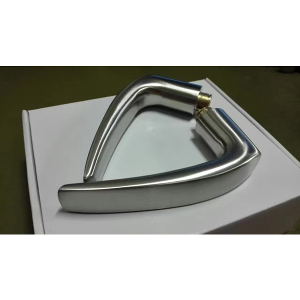 Satin Stainless Steel Solid Lever Door Handle