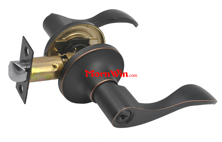 Top quality zinc alloy heavy duty high security entrance tubular door lever handle door lock